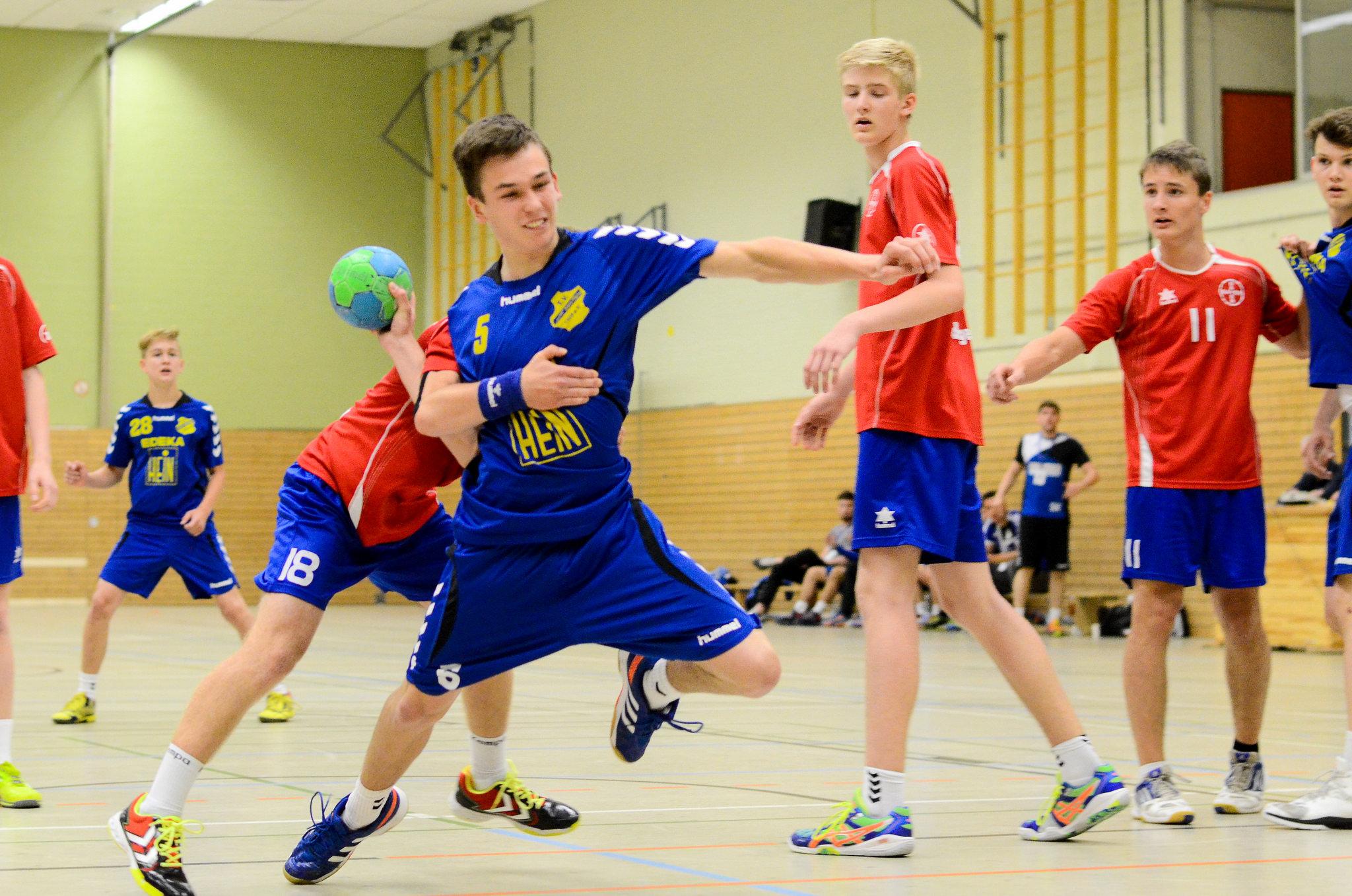 B-Jugend: Mit einem Sieg ins Rückspiel nach Uerdingen