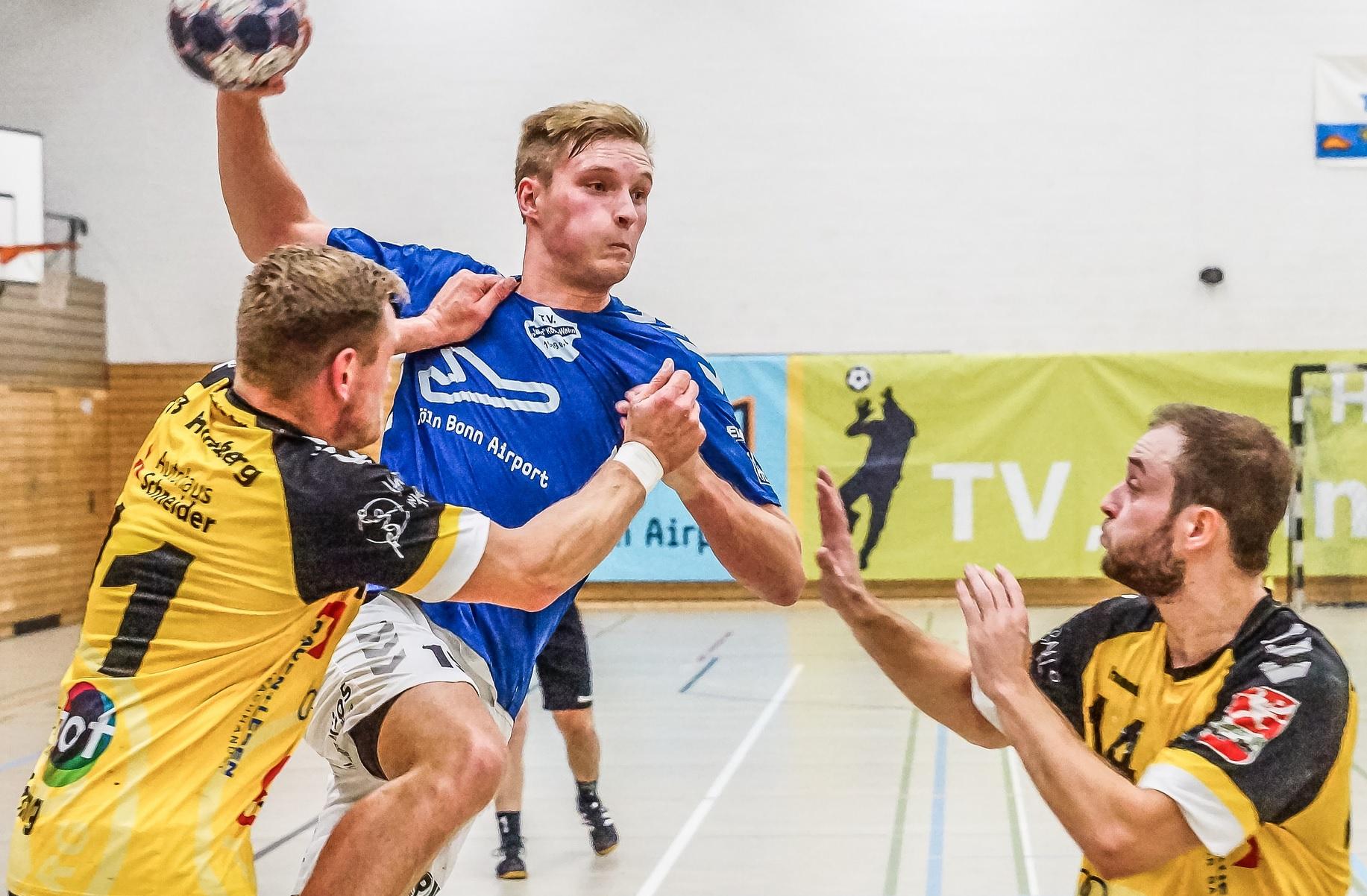 1. Herren: Max Sommershof steht nach Handballpause wieder bereit