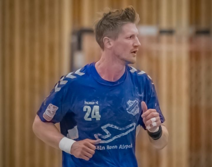 1. Herren: Gregor Pohl beendet im Sommer seine Handball-Karriere