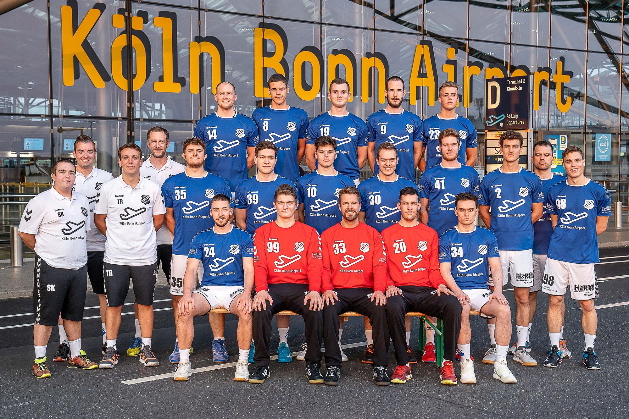 Teamfoto TV Jahn Köln-Wahn 1. Herren - Saison 2020/2021